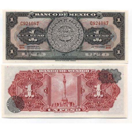 Mexique - Pk N° 59 - Billet de 1 Peso