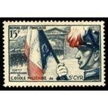 Francobolli francesi N ° 996 Nuevo non linguellato