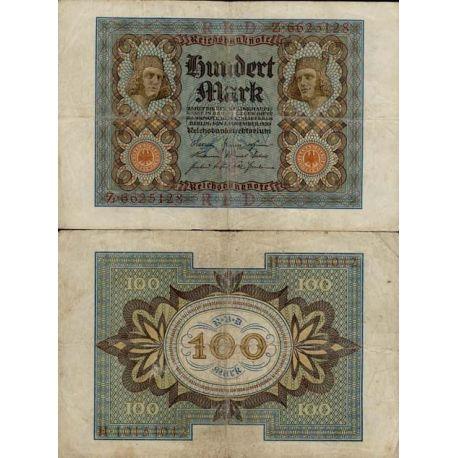 Allemagne - Pk N° 69 - Billet de 100 Mark