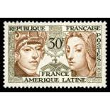 Sellos franceses N ° 1060 nuevos sin charnela