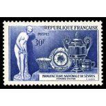 Francobolli francesi N ° 1094 Nuevo non linguellato