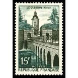Francobolli francesi N ° 1106 Nuevo non linguellato
