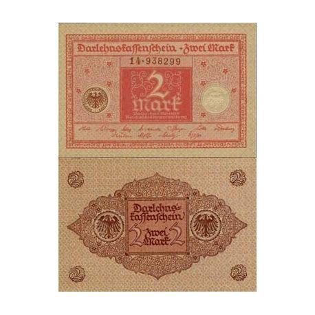 Allemagne - Pk N° 59 - Billet de 2 Mark