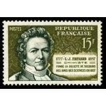 Francobolli francesi N ° 1139 Nuevo non linguellato