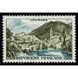 Francobolli francesi N ° 1150 Nuevo non linguellato
