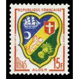 Francobolli francesi N ° 1195 Nuevo non linguellato