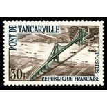 Francobolli francesi N ° 1215 Nuevo non linguellato