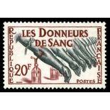 Francobolli francesi N ° 1220 Nuevo non linguellato