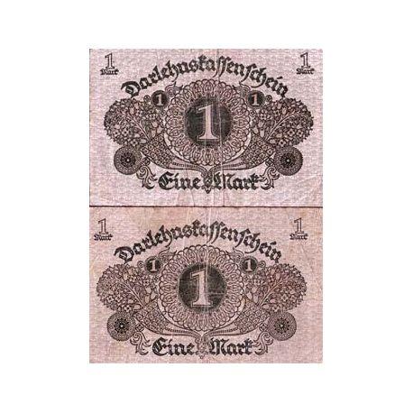 Allemagne - Pk N° 58 - Billet de 1 Mark