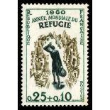 Sellos franceses N ° 1253 nuevos sin charnela