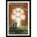 Timbre France N° 1264 neuf sans charnière