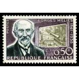 Francobolli francesi N ° 1284 Nuevo non linguellato