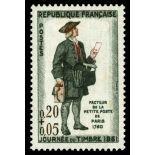 Francobolli francesi N ° 1285 Nuevo non linguellato