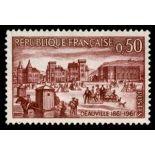 Francobolli francesi N ° 1294 Nuevo non linguellato