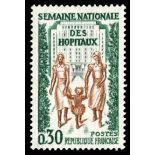 Sellos franceses N ° 1339 nuevos sin charnela