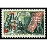 French stamps N° 1343 Mint NH