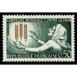 Sellos franceses N ° 1379 nuevos sin charnela