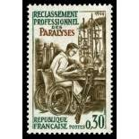 French stamps N° 1405 Mint NH
