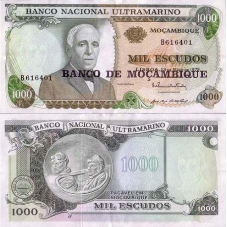 Billets de collection Billets banque Mozambique Pk N° 119 - 1000 Escudos Billets du Mozambique 5,00 €