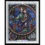 Francobolli francesi N ° 1419 Nuevo non linguellato