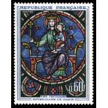 French stamps N° 1419 Mint NH
