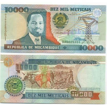 Mozambique - Pk # 137 - 10,000 Meticais ticket