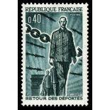 Francobolli francesi N ° 1447 Nuevo non linguellato