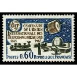 Francobolli francesi N ° 1451 Nuevo non linguellato