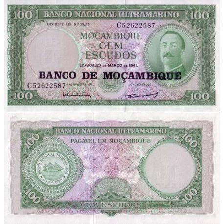 Mozambique - Pk N° 117 - Billet de 100 Escudos