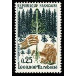 Francobolli francesi N ° 1460 Nuevo non linguellato