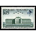 Francobolli francesi N ° 1463 Nuevo non linguellato