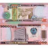 Billet de collection Mozambique Pk N° 138 - 50000 Meticais