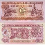 Billet de collection Mozambique Pk N° 129 - 50 Meticais