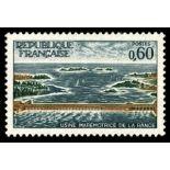 Francobolli francesi N ° 1507 Nuevo non linguellato