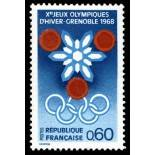 French stamps N° 1520 Mint NH