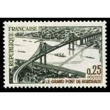 Francobolli francesi N ° 1524 Nuevo non linguellato