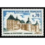 Sellos franceses N ° 1596 nuevos sin charnela