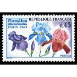 Francobolli francesi N ° 1597 Nuevo non linguellato