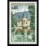Sellos franceses N ° 1602 nuevos sin charnela