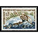 Francobolli francesi N ° 1609 Nuevo non linguellato