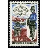 Francobolli francesi N ° 1632 Nuevo non linguellato