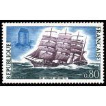 Francobolli francesi N ° 1674 Nuevo non linguellato
