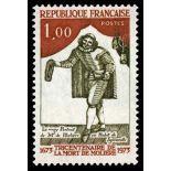 Francobolli francesi N ° 1771 Nuevo non linguellato