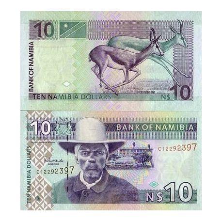 Namibia - Pk Nr. 4 - Ticket 10 $