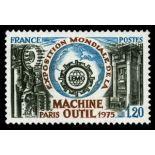 Sellos franceses N ° 1842 nuevos sin charnela