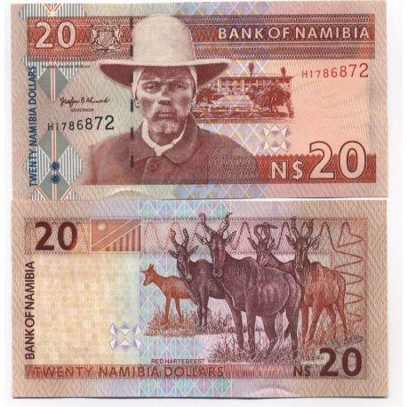 Namibia - Pk No. 5 - Ticket 20 Dollars