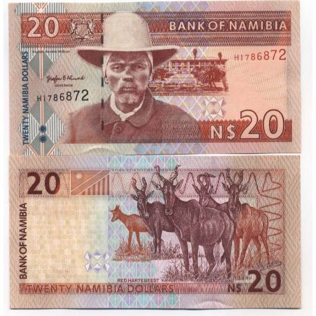 Billets de collection Billets collection Namibie Pk N° 5 - 20 Dollars Billets de Namibie 19,00 €