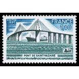 Francobolli francesi N ° 1856 Nuevo non linguellato