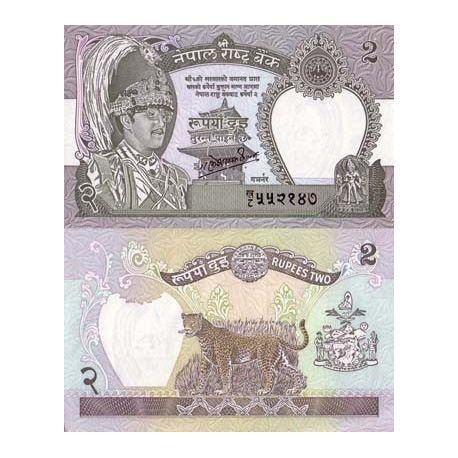 Billets banque Nepal Pk N° 29 - 2 Rupees