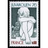 Sellos franceses N ° 1876 nuevos sin charnela